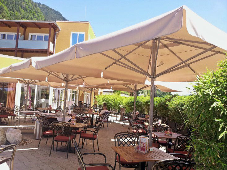 Beispiel: Terrasse, Foto: Hotel eduCare.