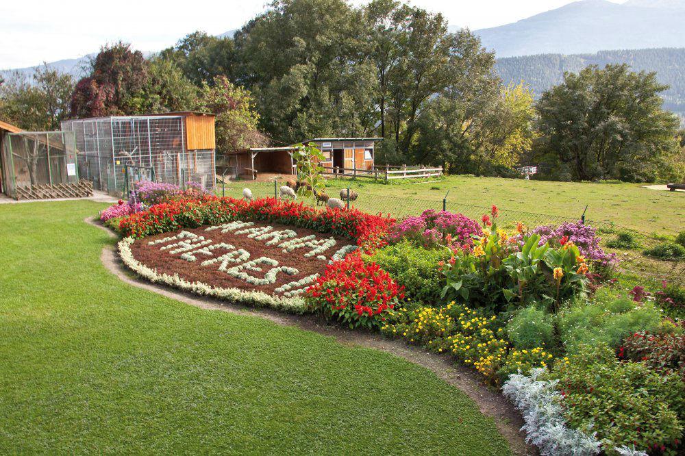 Beispiel: Gartenbereich, Foto: Garten Hotel Maria Theresia.