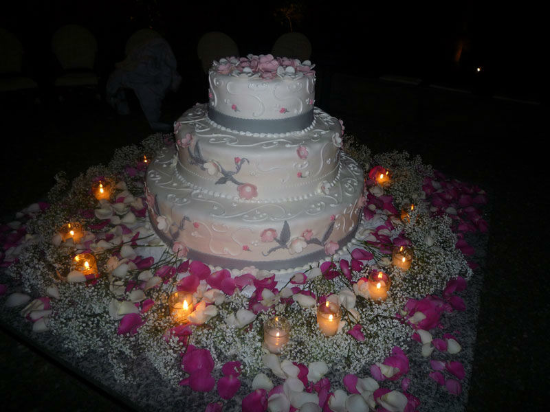 Beispiel: Ihre Traum-Hochzeitstorte, Foto: BeBride.