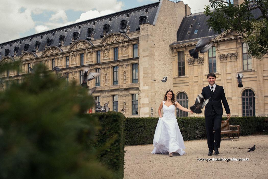 Paris - France Wedding Destination  Thalita e Vinicius