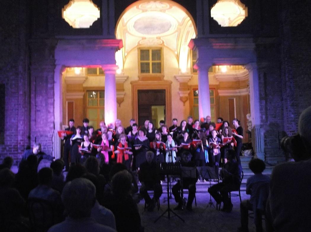 Sempre dalla balconata, concerto e spettacolo