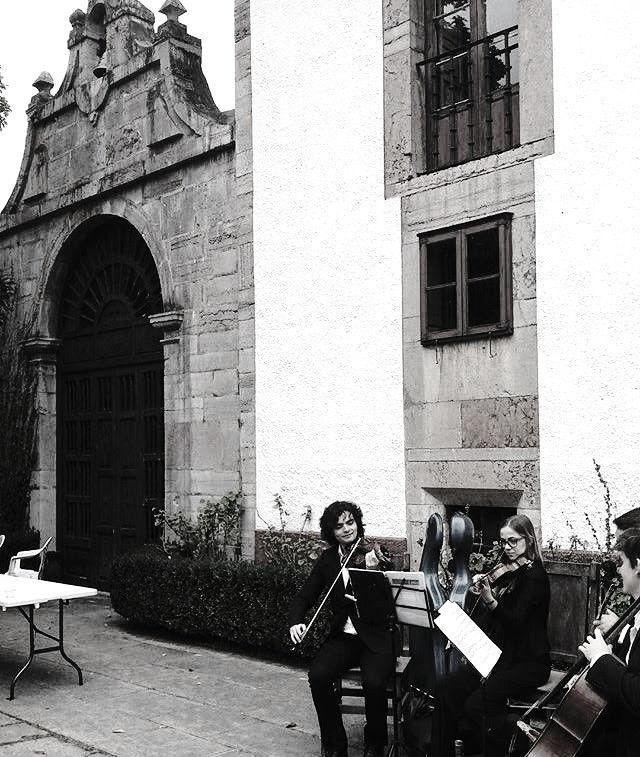 Cuarteto Lírice, música para fiesta privada en Grado, Asturias.