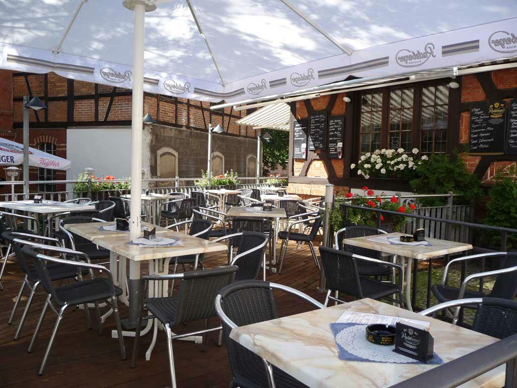 Beispiel: Terrasse, Foto: Altstadt Cafe.