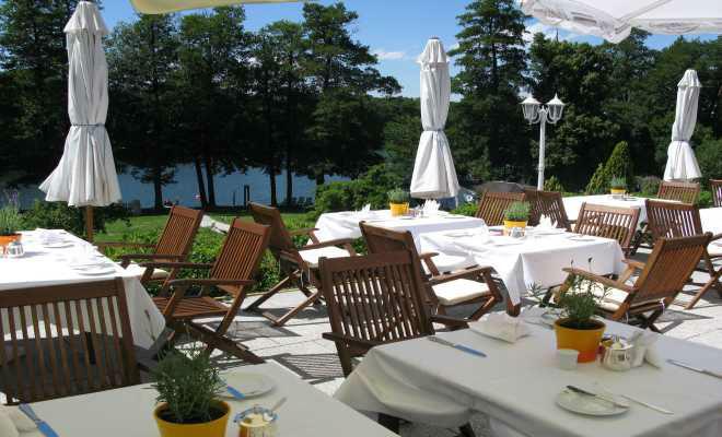 Beispiel: Außenbereich - Terrasse, Foto: Hotel residenz am Motzener See.