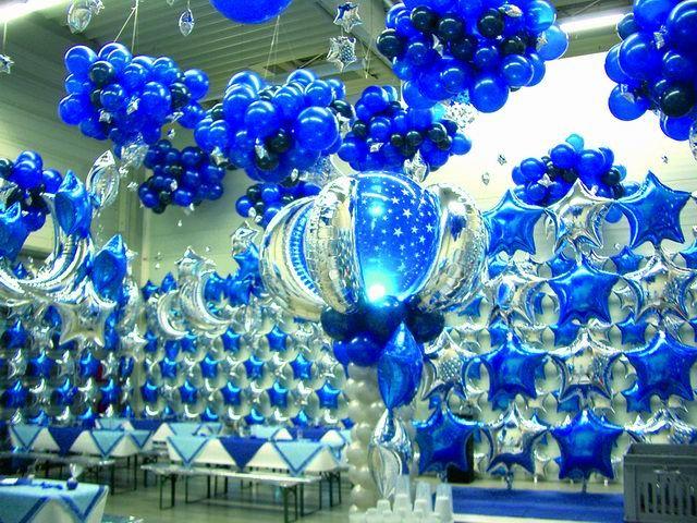 Beispiel: Luftballon-Dekoration, Foto: Ballon AS.