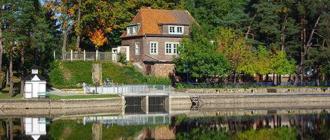 Beispiel: Vorderansicht, Foto: Waldbadgaststätte Weixdorf.