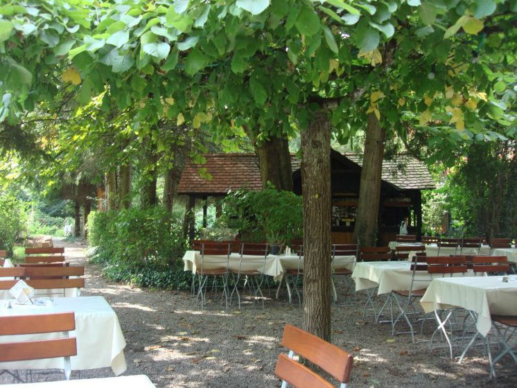 Beispiel: Biergarten, Foto: Dammenmühle.
