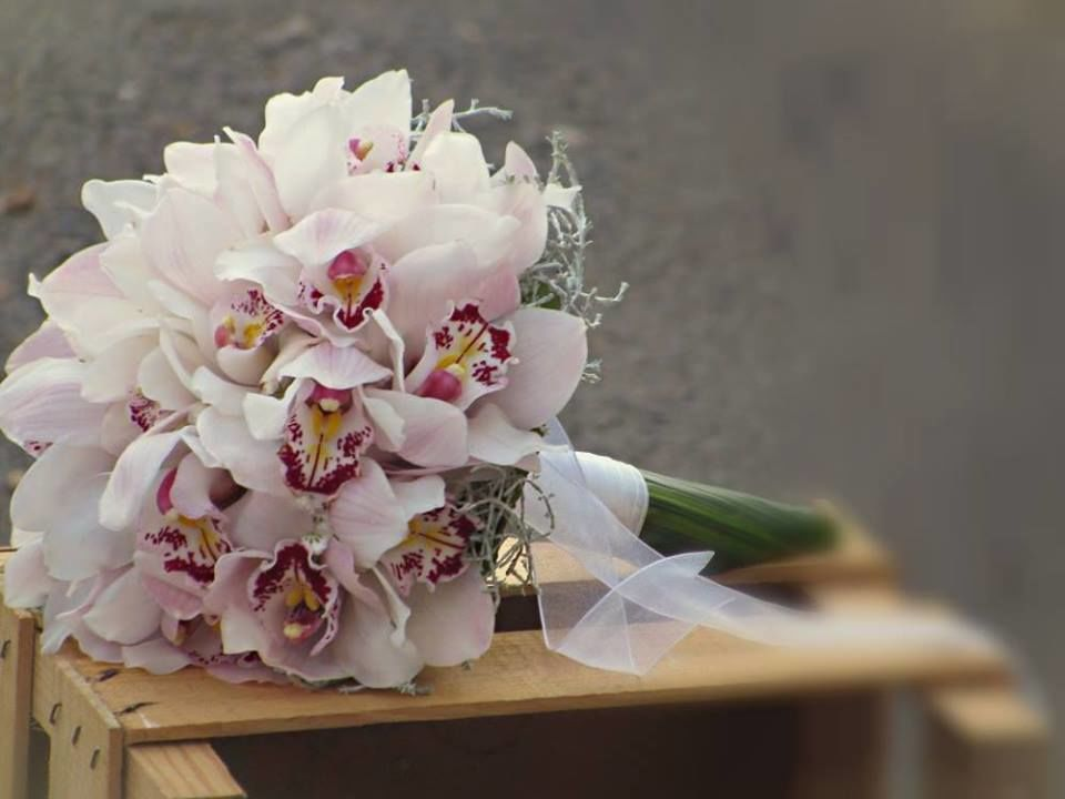 Bouquet de Noiva orquídeas brancas