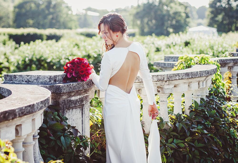 Свадьба в красных оттенках
