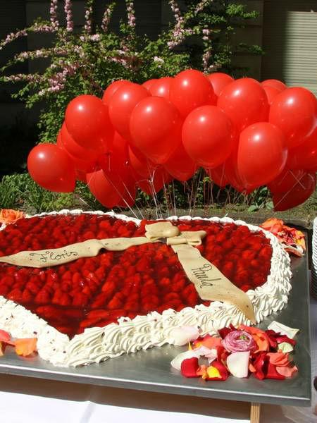 Beispiel: Hochzeitstorte, Foto: Konditorei SowohlAlsAuch.
