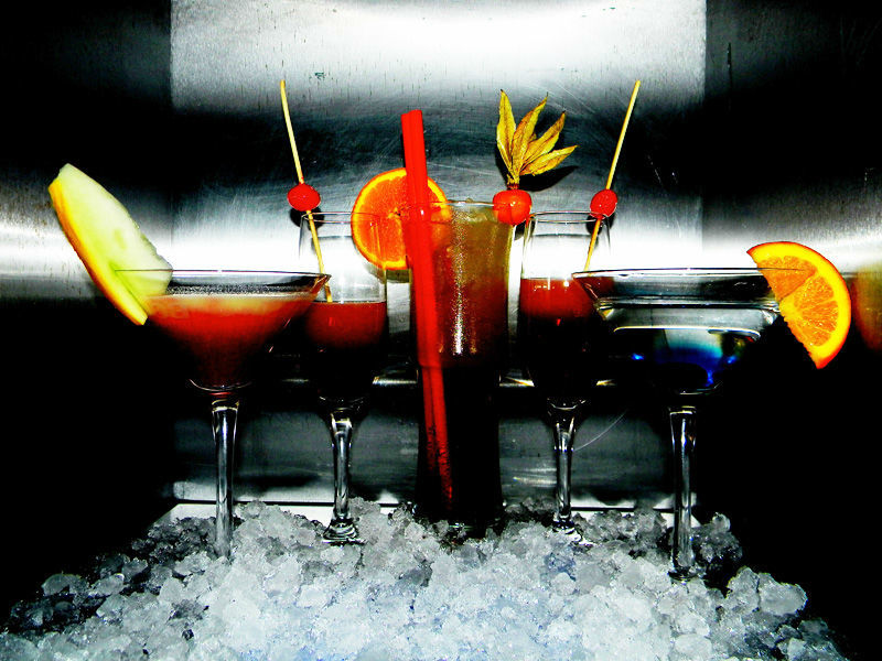 Beispiel: Cocktails, Foto: turmBAR.