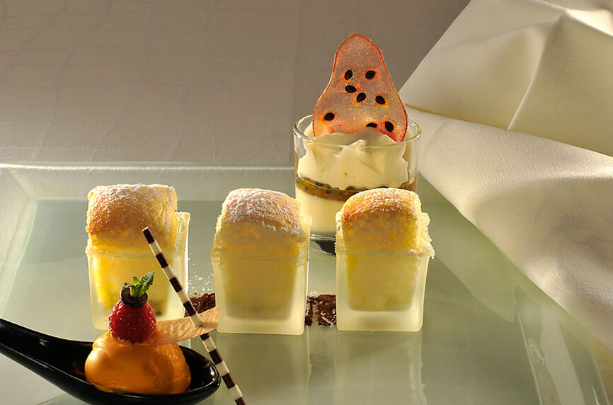 Beispiel: Kulinarische Genüsse, Foto: Rheinhotel Fischerzunft.