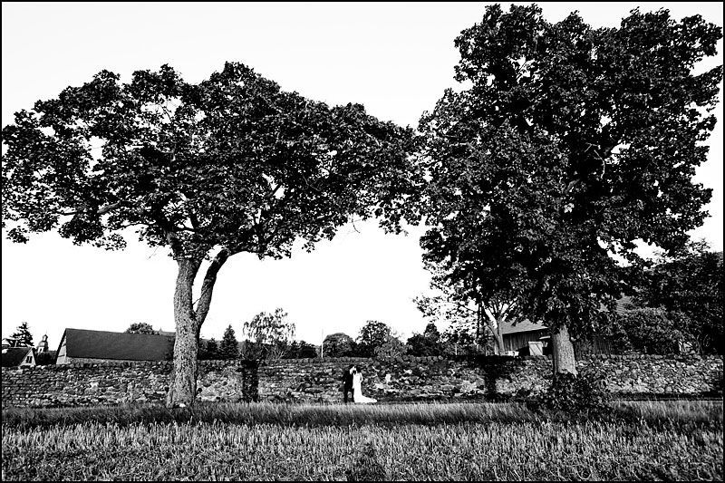 Beispiel: Hochzeitsfotos in Schwarz-Weiß, Foto: Steffen Löffler und Thomas Weber Fotografie.