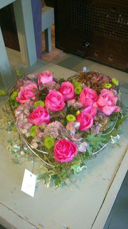 Beispiel: Hochzeitsfloristik, Foto: Blumerie Immergrün.
