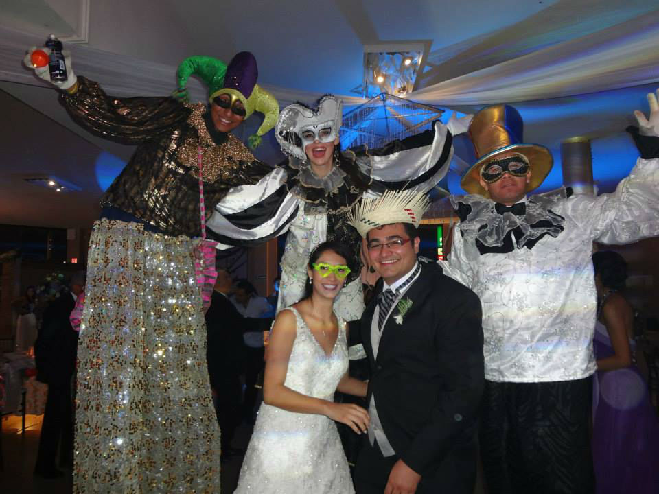 Los Dos y Medio, música y espectáculos para bodas en Coahuila