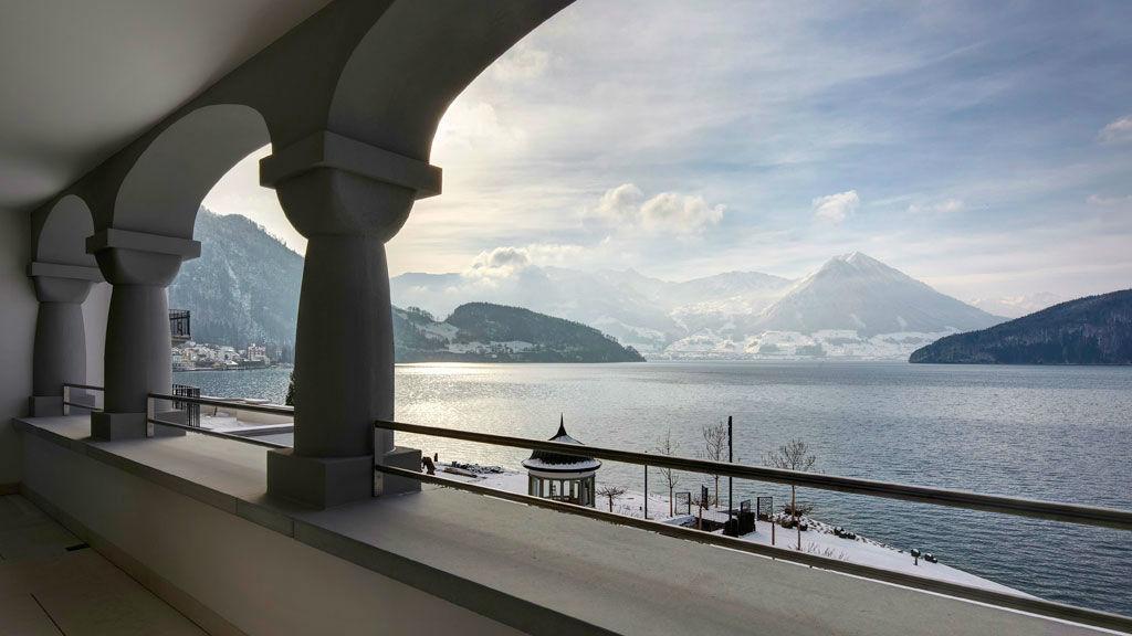 Beispiel: Zimmer mit Aussicht, Foto: Park Hotel Vitznau.