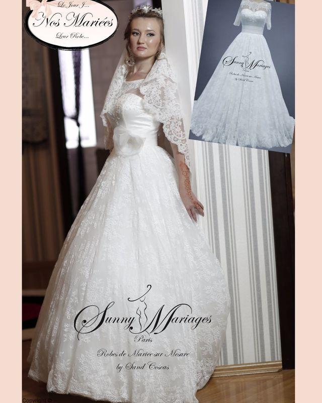 robe de mariée dentele