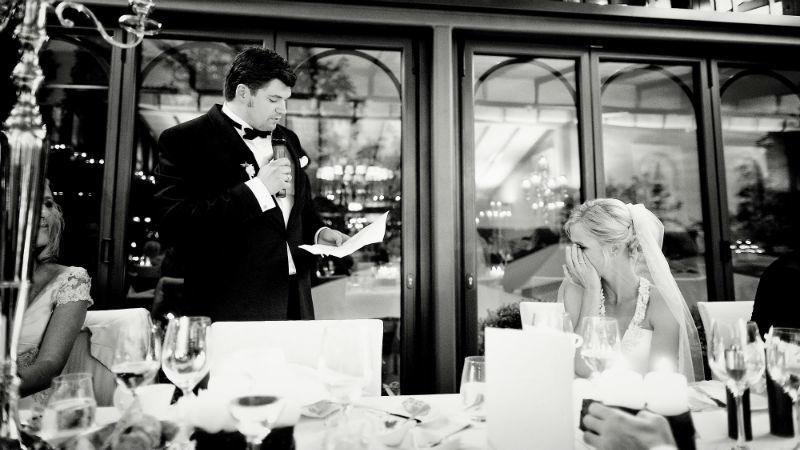 Beispiel: Rede Bräutigam, Foto: Katja Schünemann Wedding Photographie.