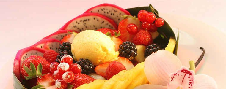 Beispiel: Frische Früchte, Foto: Kuffler Catering.