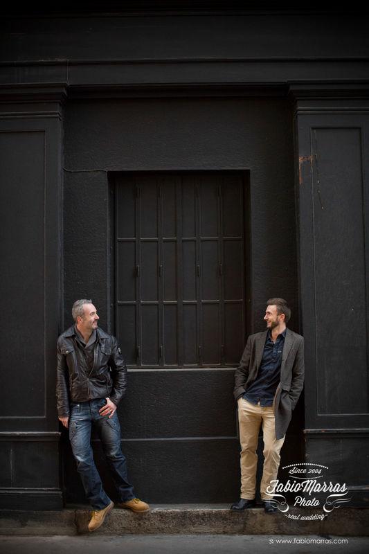 gay engagement LyonFabio Marras Photographer