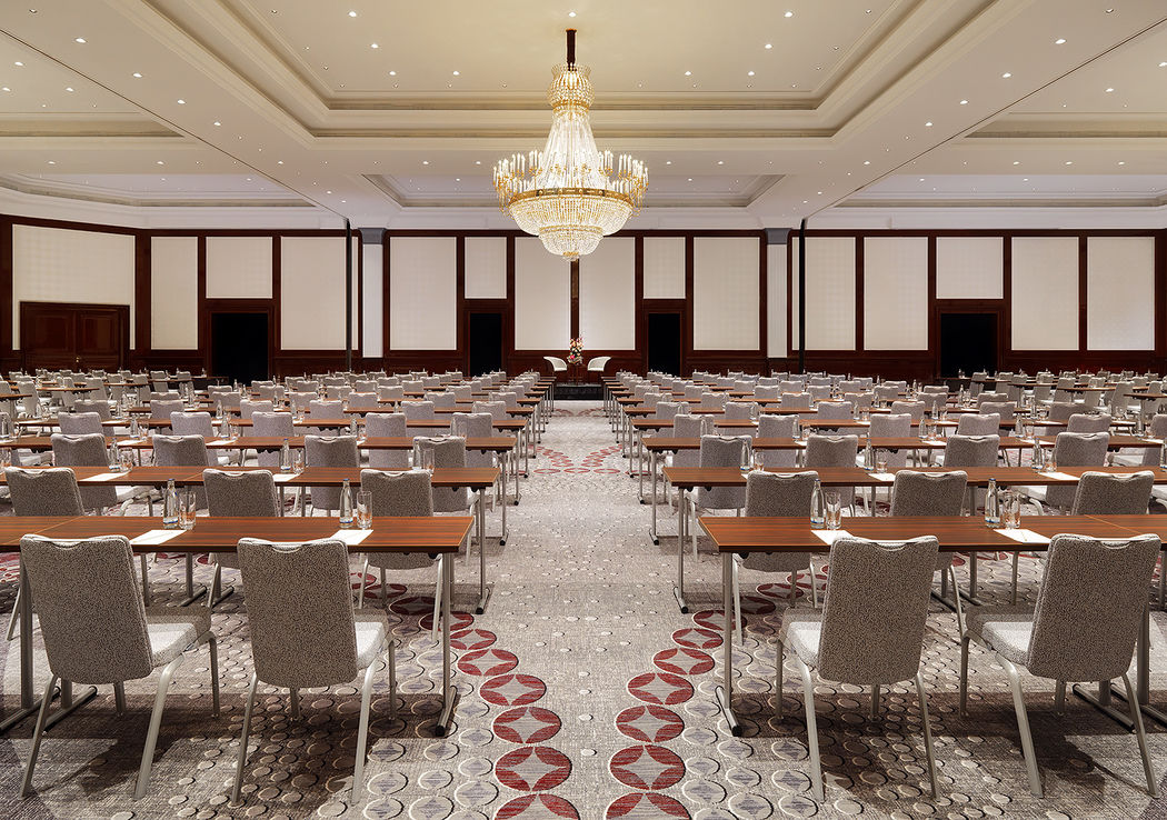Beispiel: Gran Ballroom, Foto: The Ritz-Carlton, Berlin