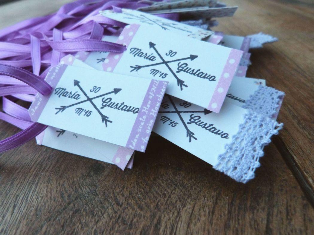 Tarjetitas personalizadas para regalos de invitados