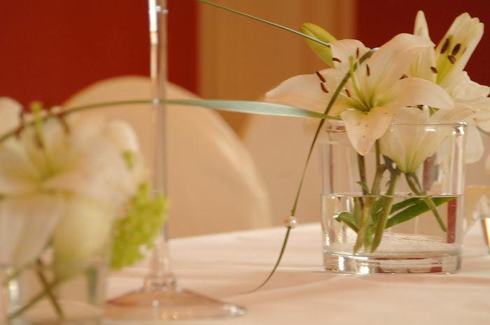 Beispiel: Tischdekoration, Foto: Schloss Kartzow.