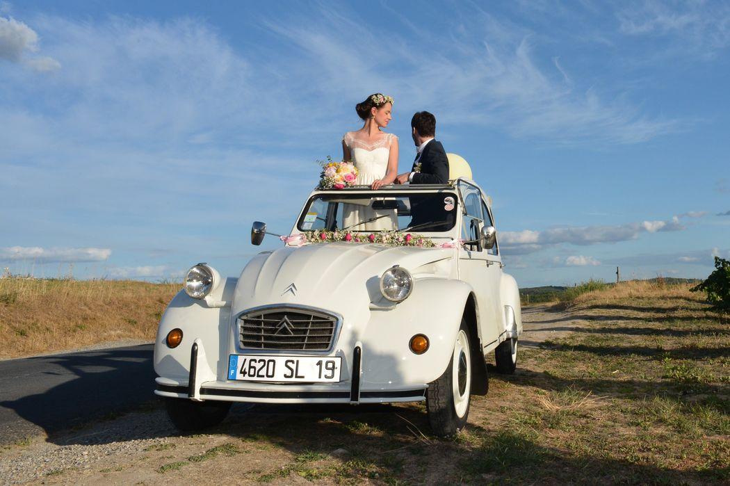 Mariage Julie et Paul  -  Fleurs Catherine Meyjonade - Crédit photo Sylvain Marchou