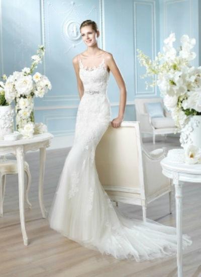 Beispiel: Lassen Sie sich von der Brautmode bezaubern, Foto: Lunardi Cerimonia.