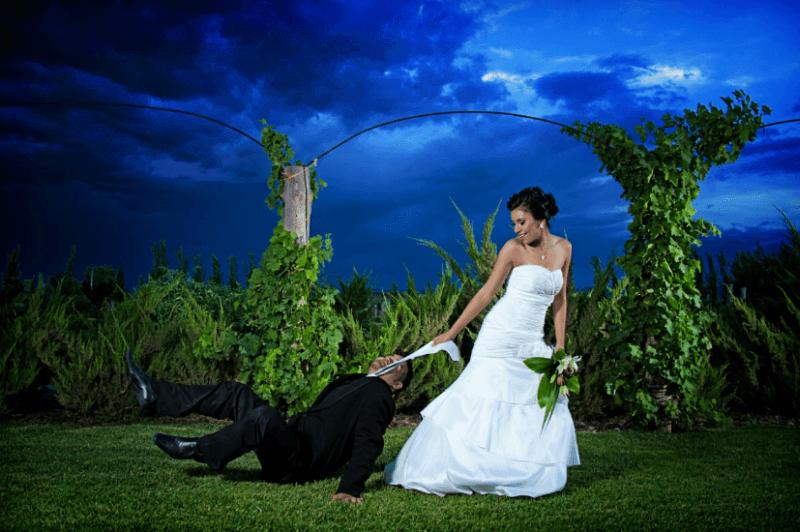 Sesión fotográfica de boda. Foto Alex Mendoza