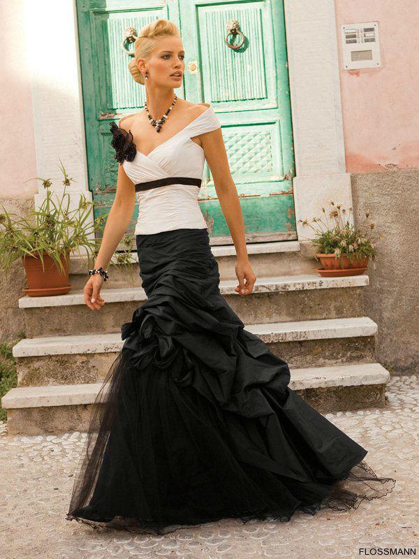 Beispiel: Brautmode mit Stil, Foto: Brautsalon Flossmann.