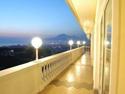 Veduta dalla terrazza - La Medusa Grand Hotel