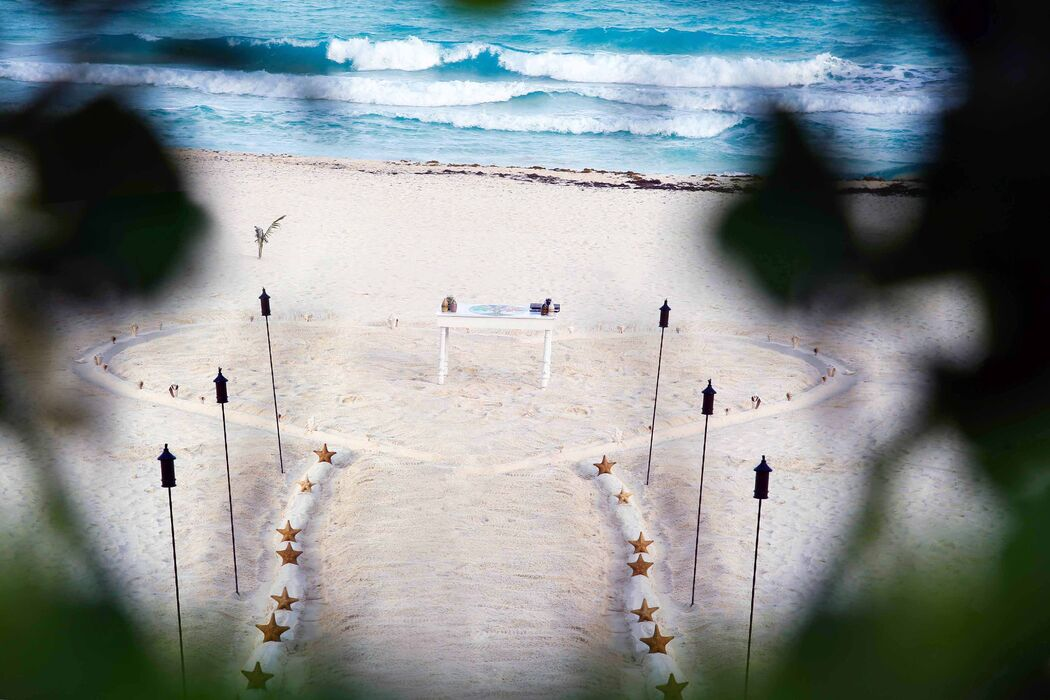 Beautyweddings Spiritual Ceremony at the beach