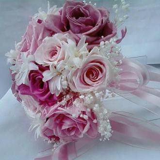 Flor de Cór  - buquê de flores naturais preservadas