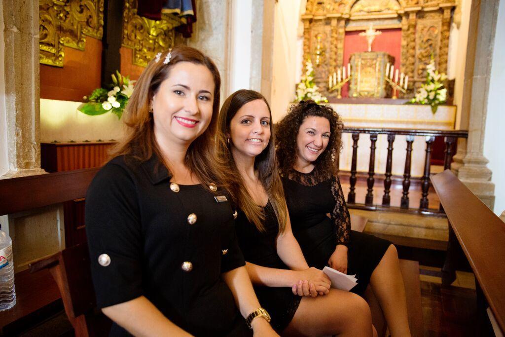 Casamento igreja matriz de Paderne.
