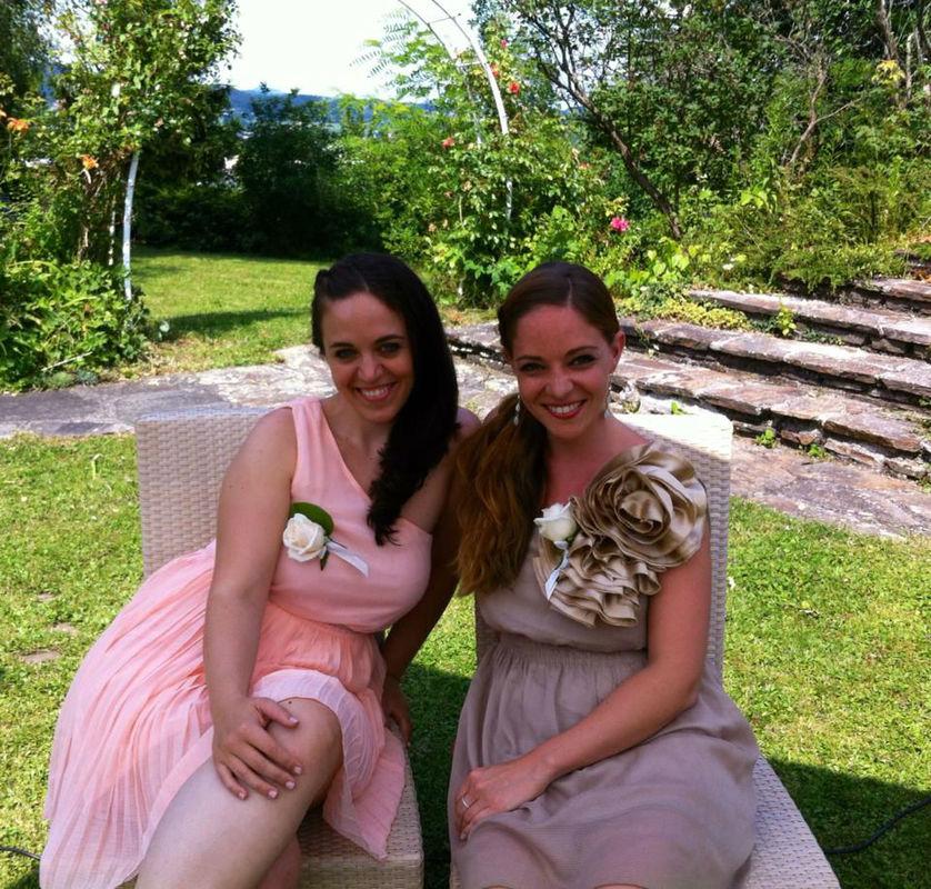 Beispiel: Delightful Voices auf einer Hochzeit, Foto: Delightful Voices.