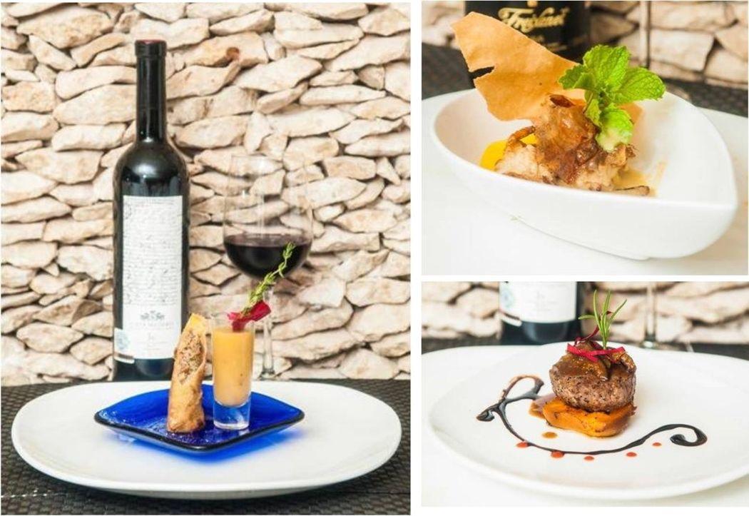 ¡Exclusivo menú sensual como banquete de su boda, ustedes y sus invitados jamás olvidarán esta experiencia gastronómica creada por nuestro Chef!