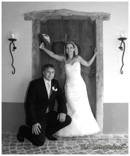 Beispiel: Brautpaar, Foto: Sallmannhof.