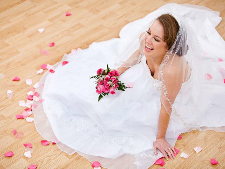 Beispiel: Glückliche Braut, Foto: DDSG Blue Danube.