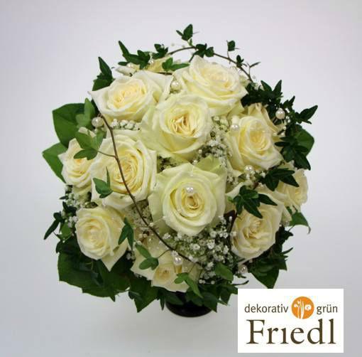 Beispiel: Brautstrauß, Foto: Friedl dekorativ & grün.