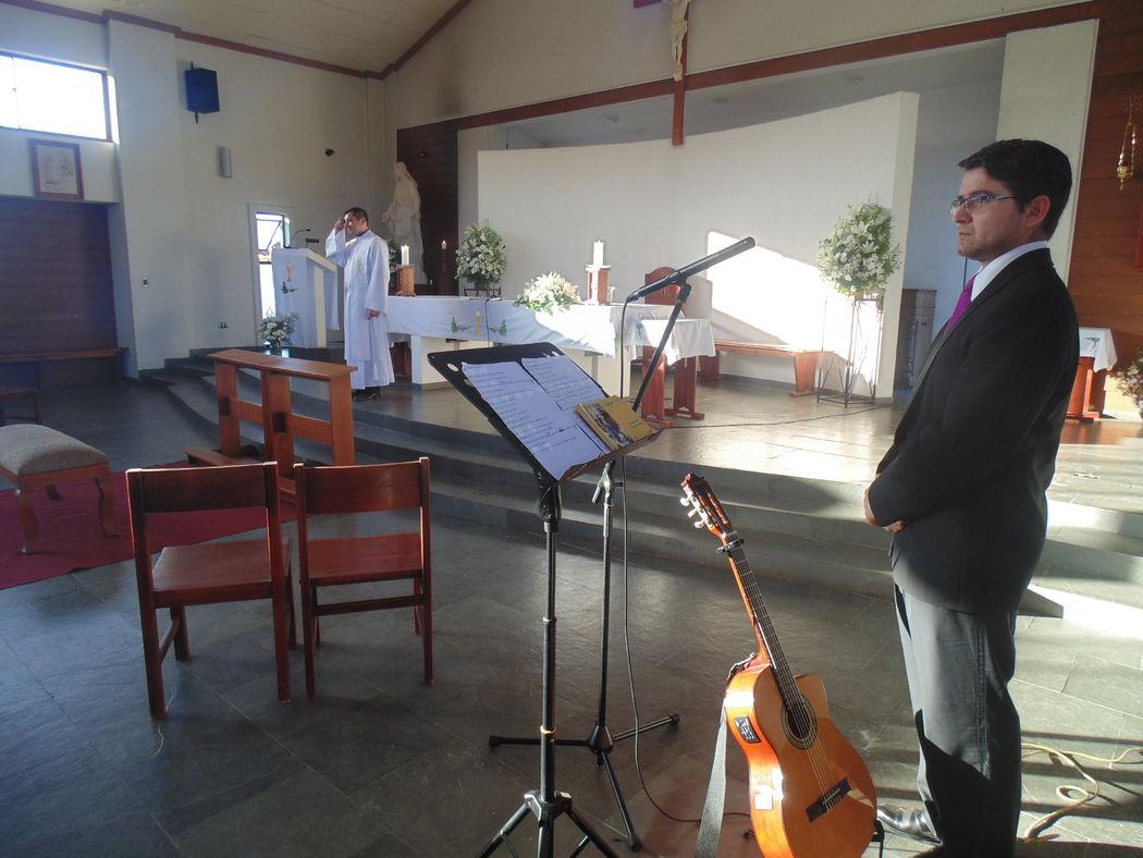 Boda en Capilla Jesús Maestro, Talca. Enero de 2016.