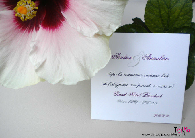 Lace Romantic Suite - Invito Thelma & Louise Wedding Invitations