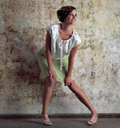 Beispiel: Kostüm, Foto: Friske & Lübcke Modeatelier.