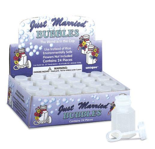 Beispiel: Seifenblasen, Foto: Horn Hochzeitsmandeln.