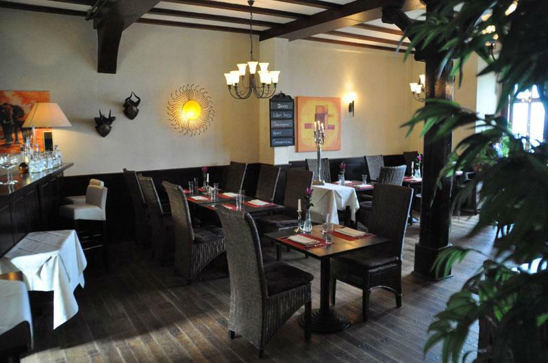 Beispiel: Innenraum, Foto: Burgrestaurant Burg Gleiberg.