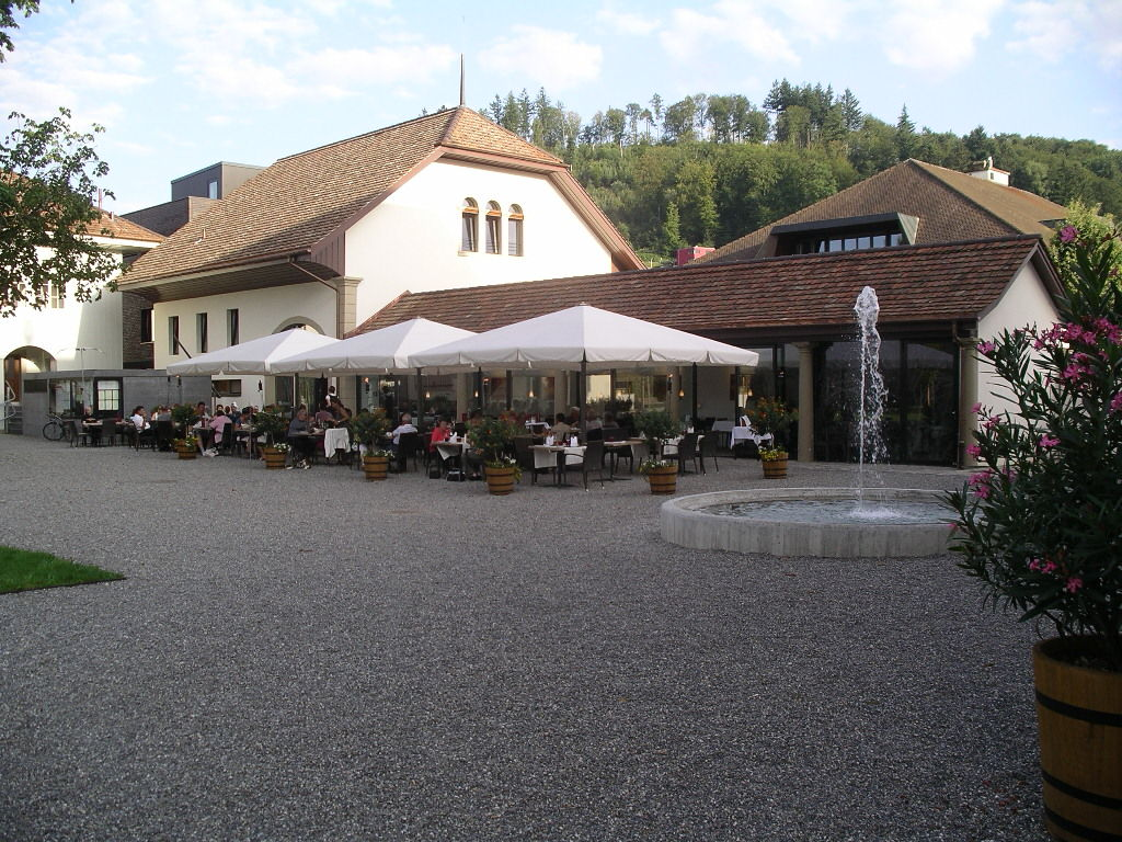 Schlosspark zum Apero