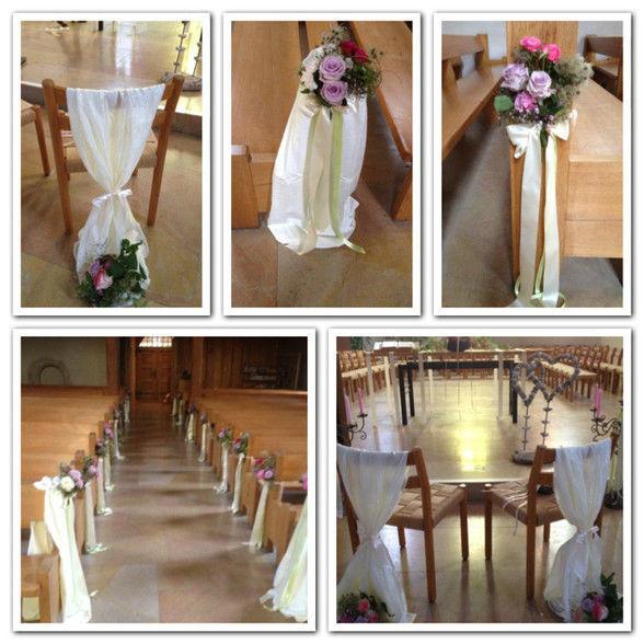 Beispiel: Kirchendekoration, Foto: Bluemeschopf.