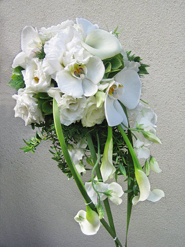 Beispiel: Brautstrauss, Foto: Krätzer Blumen.