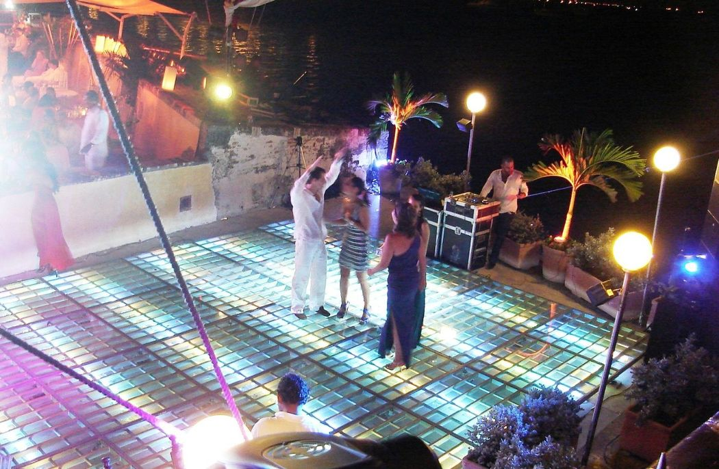 pistas de baile iluminadas