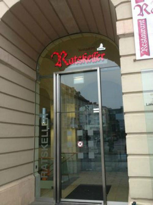 Beispiel: Eingangsbereich, Foto: Ratskeller Magdeburg.
